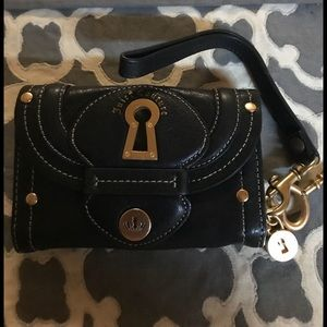 Black Leather Juicy Couture Wallet